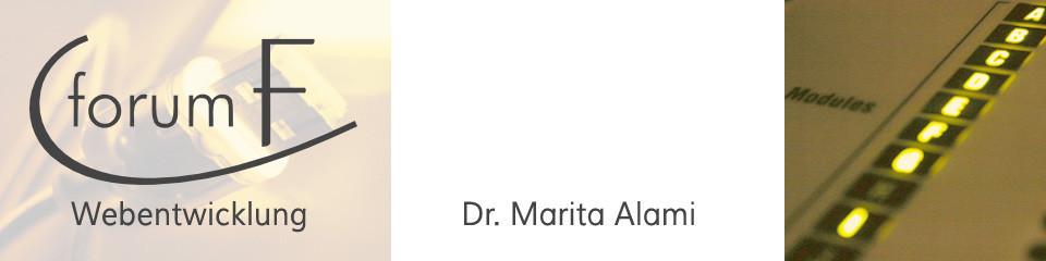 Webentwicklung Köln | Dr. Marita Alami | forumF